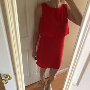 H&M red cocktail dress